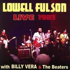 LOWELL FULSON With BILLY VERA & THE BEATERS - LIVE 1983 (New & Sealed) CD Blues