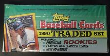 1990 Topps Traded Baseball Cards Set Factory Sealed