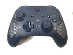 Microsoft Xbox One Wireless Controller Patrol Tech Special Edition Blue