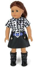 Rock Star Dress w/Sequins made for 18 inch American Girl Doll Clothes