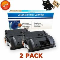 2PK High Yield Toner Cartridges for HP CC364X 64X LaserJet P4015dn P4015n P4515x