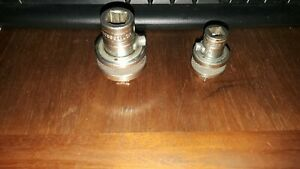 """Snap On brand 1/2"""" and 3/8"""" Drive Reversible Breaker Bar Ratcheting Adapters"""