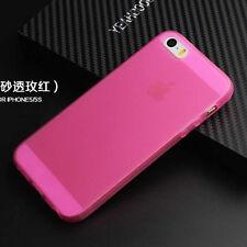 For Iphone 4S 5 5S TPU Matte Soft Gel skin Case Cover