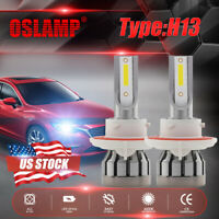 MINI H13 9008 1500W 225000LM LED Headlight Kit High Low Beam Bulb White 6000K