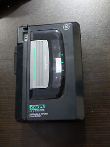General Electric GE 3-5366A cassette recorder AVR Variable speed TESTED