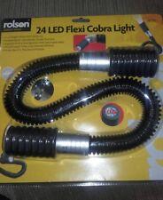 rolson 24 LED flexi cobra light