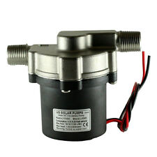 12V~24VDC Solar Hot Water Pump, Can handle temp of 230 F & pressures of 145 PSI