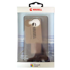 Krusell Boden Cover 60349 für  Microsoft Lumia 950XL, smoked black, Blister