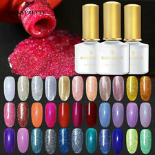 85Colors BORN PRETTY Shimmer Glitter Gel Nail Polish Nail UV LED Varnish DIY 6ml