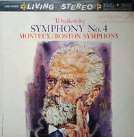 RCA LIVING STEREO LSC-2369 SHADED DOG* TCHAIKOVSKY SYMPHONY 4 MONTEUX *5S/5S* NM