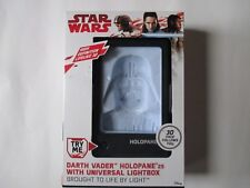 Star Wars Darth Vader Holopane 25 With Universal lightbox New Boxed and Unopened