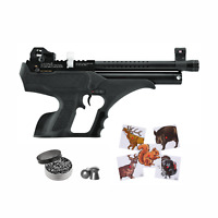 Hatsan Sortie Synthetic PCP Air Pistol with Targets and Lead Pellets Bundle