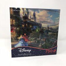 Disney Thomas Kinkade Sleeping Beauty Dancing in the Enchanted Light 750pc