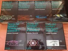 Geymonat STORIA DEL PENSIERO FILOSOFICO E SCIENTIFICO Nuova Ed. 1975 7 Volumi