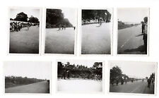 7 Photos  Championnat de France Cycliste sur route - MONTLHERY 1936 - Vélo Cycle