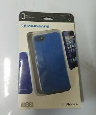 Marware MicroShell Case for iPhone 5, Blue #ADMS1016