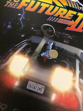 Hot Toys Back to the Future 2 Doc Brown Clear Tie loose 1/6th scale