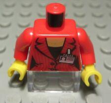 LEGO personaggio accessori top nero con decoro