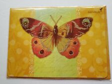Beautiful Butterfly Papyrus Blank Card NEW