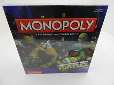 2014 Hasbro Monopoly Teenage Mutant Ninja Turtles Edition NEW Sealed Nickelodeon