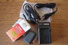 caricabatteria e batteria nuova sigillata  NB-2L NB-2LH Canon EOS 350D 400D