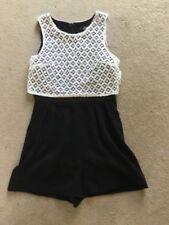 Cotton Blend Playsuit Petite Jumpsuits & Playsuits for Women