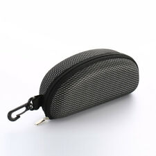 Zipper Sunglasses Carry Box Case Eye Glasses Clam Hard Shell Portable Protector