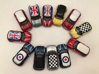 Die Cast Bmw Mini Cars Bundle Ideal In Greet Used Condition- Club Scene Etc
