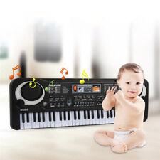 61 Key Electronic Organ Electric Piano Music Keyboard & Microphone Gift for Kids