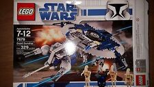 LEGO STAR WARS #7678 DROID GUNSHIP & A-WING