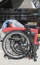 2020 Brompton Black Edition Racing Red and Black