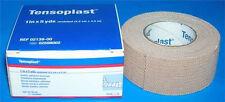 "BSN TENSOPLAST Elastic Adhesive Bandage 1""x5Yds Beige Tan Elastoplast 02598002"