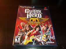 GUITAR HERO AEROSMITH PLAYSTATION 2 PS2 COMPLETE NEW