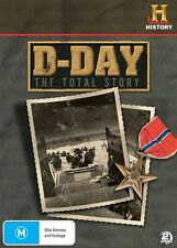D-Day - The Total Story (DVD, 2010, 2-Disc Set)
