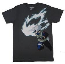 Naruto Shippuden Kakashi Hatake White Fang Anime Adult T Shirt XL