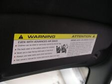 BMW Sun visor warning label Cover-up decals X5 X3 X1 3 4 5 series 2011-18