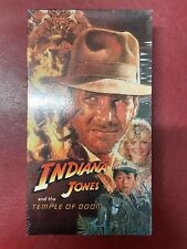 Indiana Jones and the Temple of Doom - VHS - New Sealed Original Packaging 1643