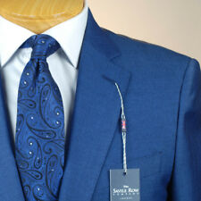 48R SAVILE ROW Indigo Blue SUIT SEPARATE  48 Regular Mens Suits - SS45