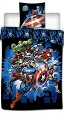 Housse de couette+taie d'oreiller Avengers super Hero 1 place enfants, Marvel
