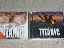 Titanic- und Back to Titanic Soundtrack CD