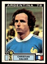 Panini Argentina 78 - Christian Dalger France No. 92