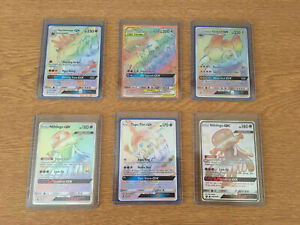 RARE Pokemon - Rainbow rare collection lot - NM Excellent Condition