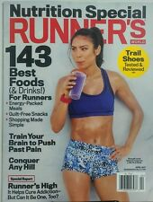 Runner's World April 2017 Stephanie Corgel Nutrition Special FREE SHIPPING sb