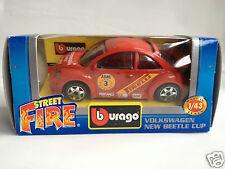 Bburago Burago Volkswagen New Beetle Cup - red