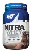 GAT Sport NITRA WHEY 2LB 25Srv Pro-Test Optimizing 100% Whey Isolate ISO-100