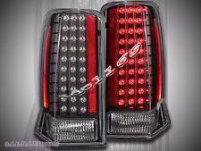 02-03 04-06 CADILLAC ESCALADE BLACK LED TAIL LIGHTS 05