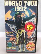 WWF World Tour 1992 Roddy Piper Randy Savage Shawn Michaels Hart Bulldog VHS WWE
