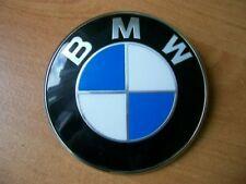 GENUINE BMW 82MM BONNET BOOT BADGE 51148132375 BLUE/WHT - 1 2 3 4 5 6 7 8 SERIES