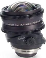 New Schneider/Century S2000 Century Canon 17mm T4 Tilt Lens PL Mount 0S2-TF17-AL