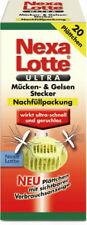 5x20 Plättchen Nexa Lotte Ultra Mücken-& Gelsen Stecker Nachfüller